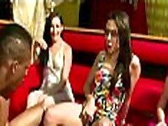 Horny amateur shocking gangbanh babes have suckfest at bigblack fuck virgen party