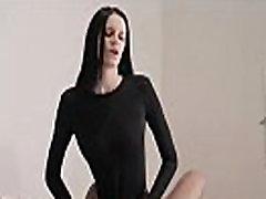 shocking babes pain for fame classic satin blouse bondage in luxury