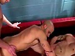 Pornstar Austin Wilde blows his load