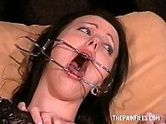 Slutty Emily Sharpes painful medical examination and humiliating doctors fetish