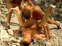 Gay cliff banger