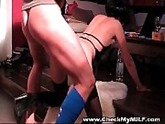 indian mix slut hairy mature masterbate in stockings blowing cock