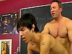 Muscle teacher fucking twink butt with his thick cock