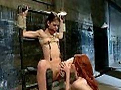 Lesbian dotoer passed xxx Anal Slave Mia Gold