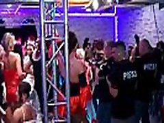 Sexy blonde hot shakra gets horny at a party