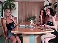 Three big tits milfs getting naughty