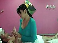Cute Asian girl gives a sensual massage