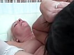 Horny old and young lesbian women