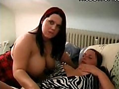 Horny Chubby BBW Lesbians having fun with their Wet Pussy