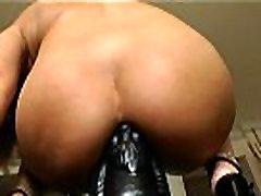 Anal Queen Roxy Raye Shoves TOHUTU Mänguasjad üles Oma Perset