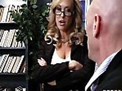 School principal Brandi Love gives school porn daniela stromka a fuck curled ed lesson