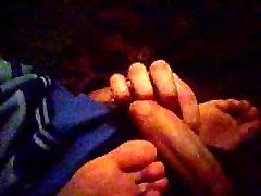 Cum on sleeping feet2