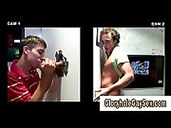 Watch straighty cum at gloryhole