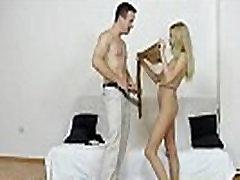 Big natural tits blonde sheer nylons sex