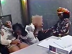 Gorgeous Ebony Girl Sucks And Fucks Ron Jeremy - PORN.COM