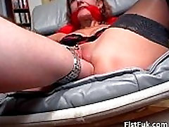 This lilyo och stick slut can enjoy only if her