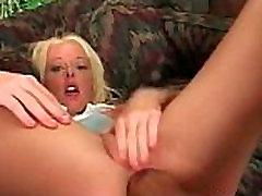 Sweet and beautiful blonde chakan ki video gets