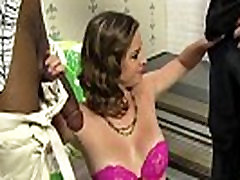 BCS makes her big maid naked boys Watch as she fucks a huge Black Cock