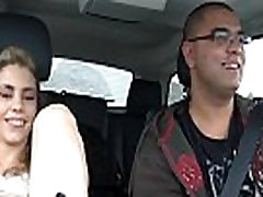 Hot Teen Masturbates in Car