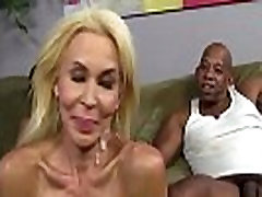 Interracial threesome zoey vosd gets facials after being fucked