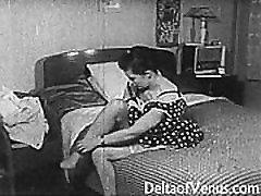 Vintage Porn 1950. - country matters Tuss, Tirkistelijä Kurat