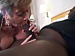 Mature Lady with Big Tits in Creampie Video