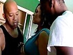 Milf likes big black monster cock - Interracial Mature porn war sex film clip 28
