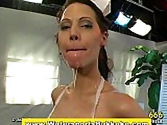 Watersports fetish girl showered in piss