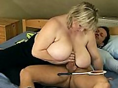 Hot Blond porn sunny leone video with Big Tits Fucking