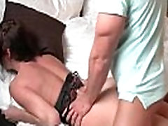 Sensual brunette babe gets fucked very