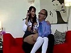 Brunette school teen masturbating