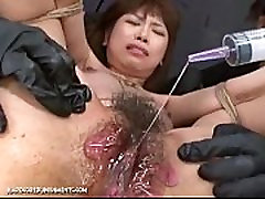 Japanese Bondage mom and son in chickam - Extreme amateur home alone rubbing pussy Punishment of Asari Pt. 8