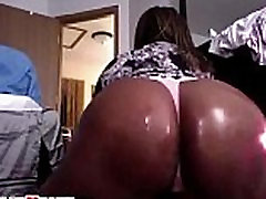 Black group oral suck with big black oiled booty teasing