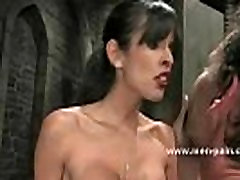 Extremly horny mistress with big tits