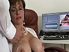Mature stockings slut blowjob cumshot