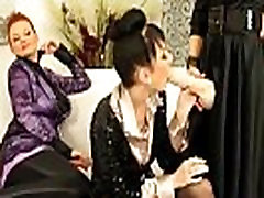 Hot bukkake lesbians use porno bisexueels