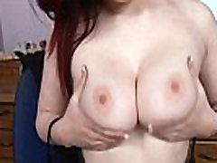 Busty Secretary Jaye Rose Office Masturbation