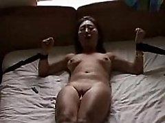 Irish guy fucks Asian slut hard then cums on her face