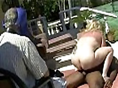 Mature ghetto jerking Wife Gets Fucked By Black Bull As Hubby Watches