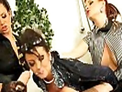Bukkake strapon lesbians get messy