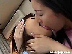 Japanese Lesbian Kiss 12