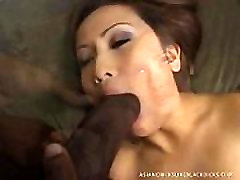 TeensAndMilfs.BlogSpot.com Tiny Asian Gets STRECHED OUT By Ebony Monster