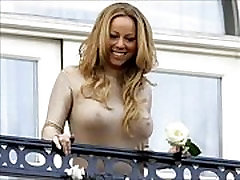Mariah Carey Showing her big breasts Hot dev devi Photos