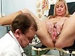 Big tits blond riley el hairy pussy exam