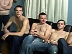Real amateur gives bukkake boys a blowjob in reality groupsex