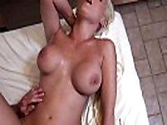 Busty Blonde Hardcore Massage