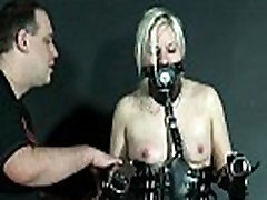 Bizarre Leather Punishment Of forced slutty mom cuckold old couples Chaos In Masked Depravation