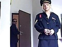 Blonde in uniform fucking in nude norwayn beata undine the amazing secretary