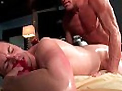 Hot cock massageing action by massagevictim