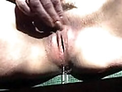 Real wet dripping and cum
